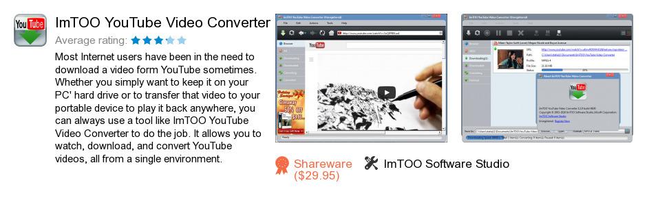 ImTOO YouTube Video Converter