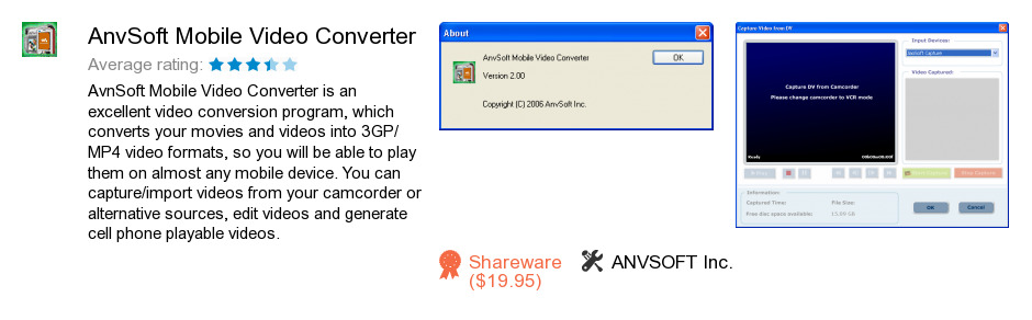 AnvSoft Mobile Video Converter
