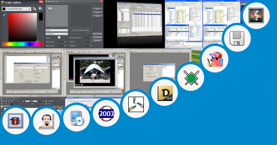 Software collection for Baseball Field Design Software