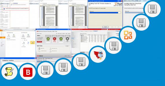 Software collection for Outlook Web Part Sharepoint 2010