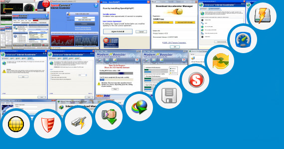 Software collection for Speed Connect Internet Accelerator Key