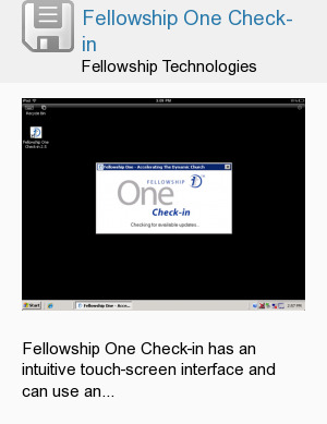 Fellowship One Check-in