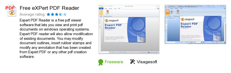 Free eXPert PDF Reader