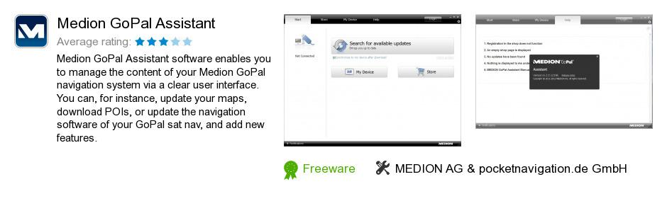 Medion GoPal Assistant