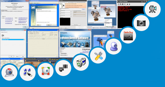 Software collection for Datex Web Camera Driver