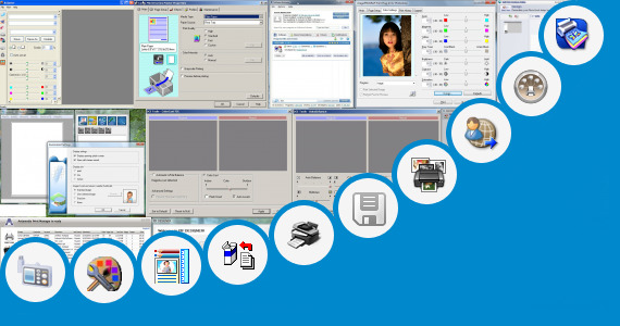 Software collection for Epson L110 Series Print Settings