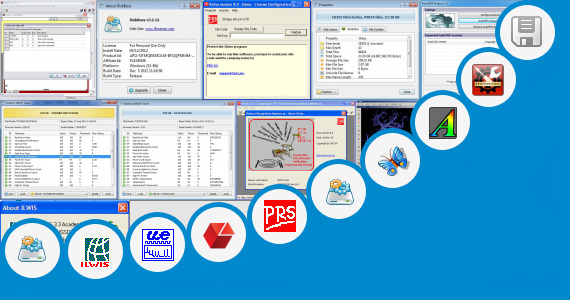 Software collection for Mi Power For Power System Analysis