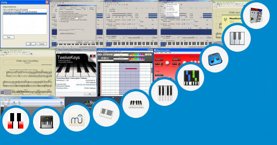 Software collection for Po Nee Po Song Keyboard Notes
