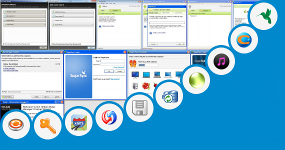 Software collection for Pc Sync Manager