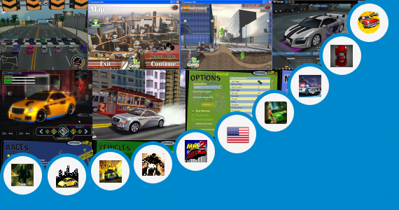 Software collection for City Racing Trainer