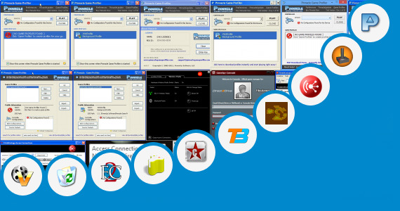 Software collection for Programs Lenovo Games Console