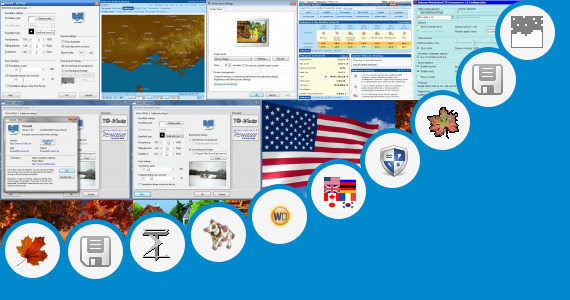 Software collection for Windows 8 Wind 3d Desktop