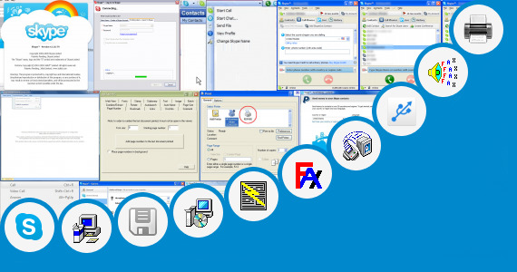 Software collection for Microsoft Shared Fax Driver