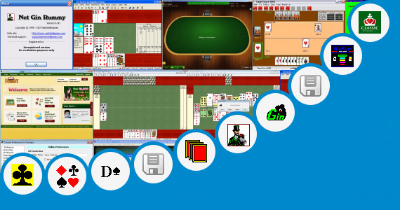 Software collection for 13 Cards 3d Rummy Game