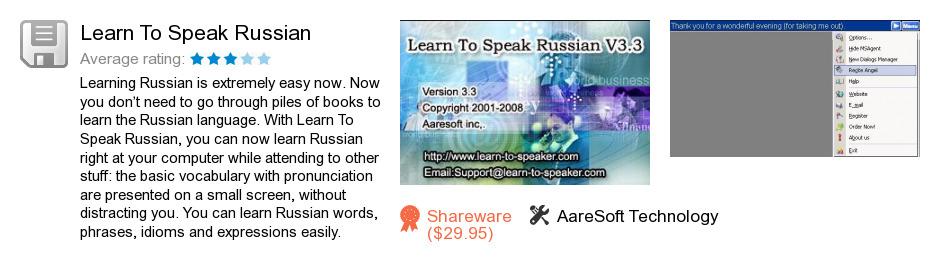 Learn To Speak Russian