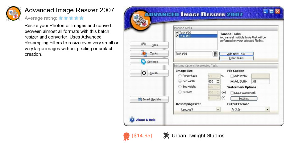 Advanced Image Resizer 2007