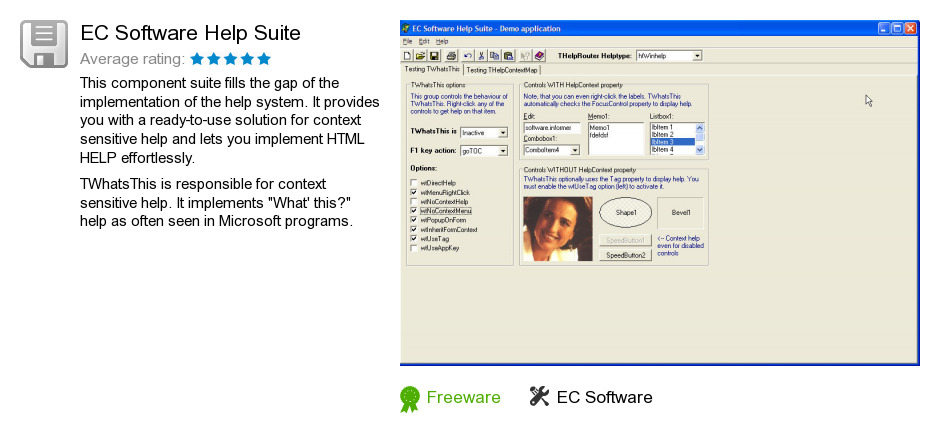 EC Software Help Suite