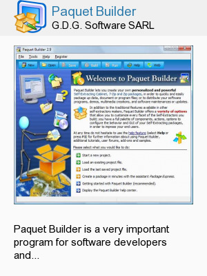 Paquet Builder