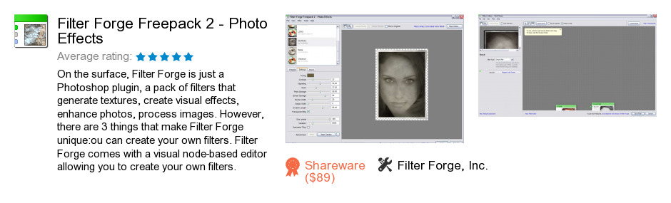 Filter Forge Freepack 2 - Photo Effects