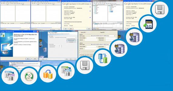 Software collection for Sandisk Data Migration Software