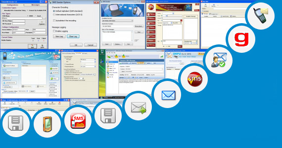 Software collection for Sms Sender In Iran