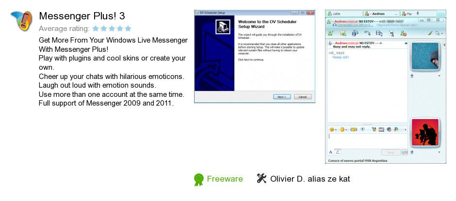 Messenger Plus! 3