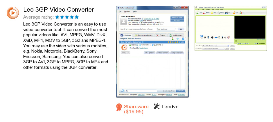 Leo 3GP Video Converter
