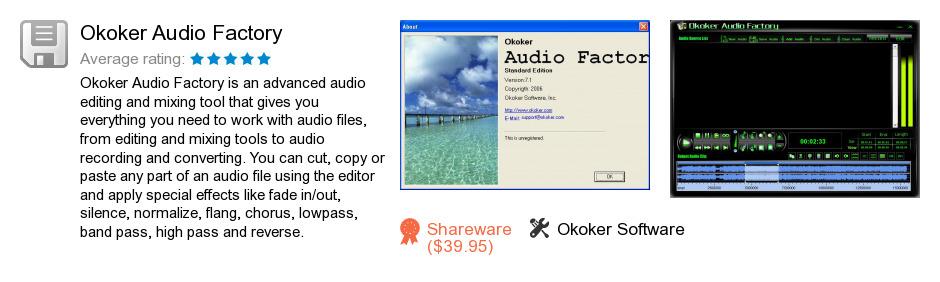 okoker audio factory v6.3