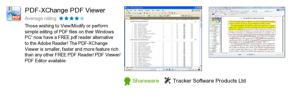 PDF-XChange PDF Viewer