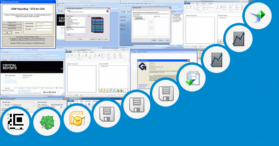 Software collection for Crystal Report Activex Viewer