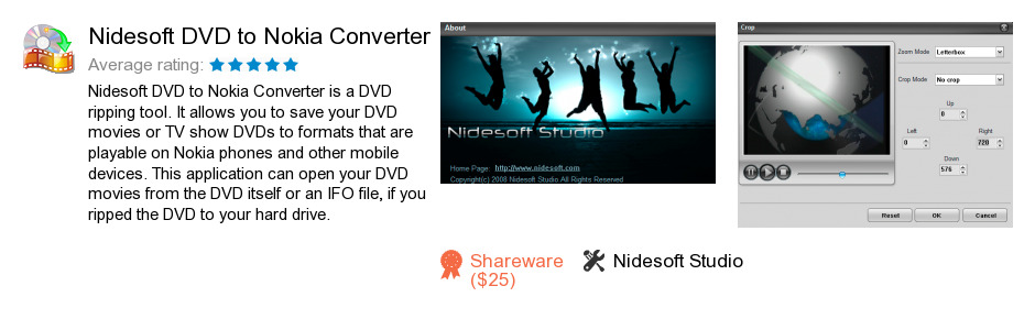 Nidesoft DVD to Nokia Converter