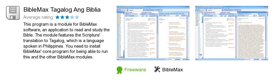 BibleMax Tagalog Ang Biblia