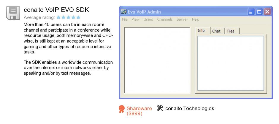 Conaito VoIP EVO SDK