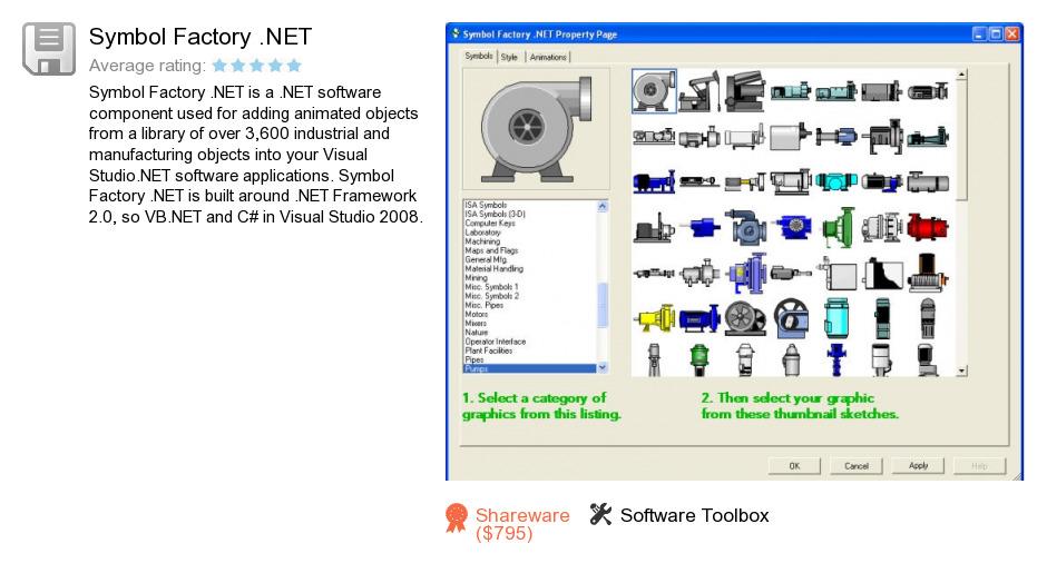 Symbol Factory .NET