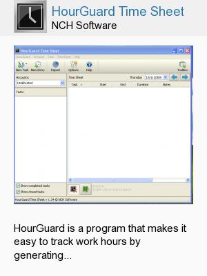 HourGuard Time Sheet