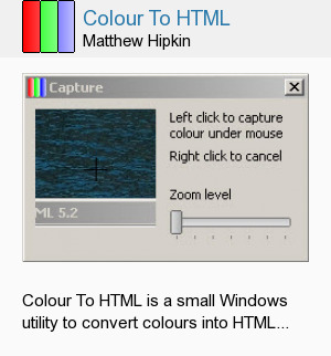 Colour To HTML