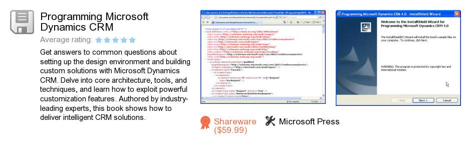 Programming Microsoft Dynamics CRM