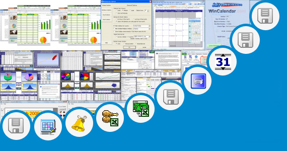 Software collection for Excel Daily Planner Template 2013