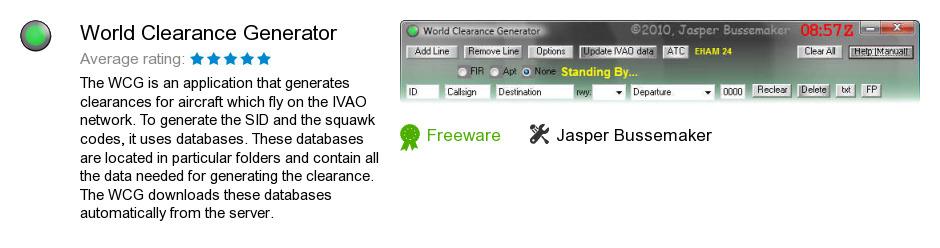 World Clearance Generator