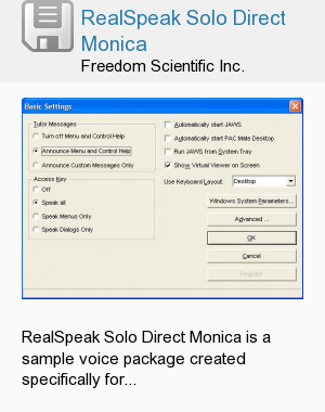 RealSpeak Solo Direct Monica