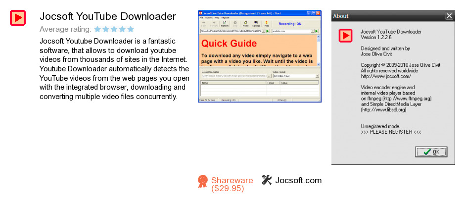 Jocsoft YouTube Downloader