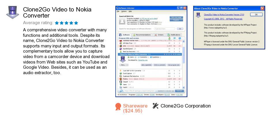 Clone2Go Video to Nokia Converter