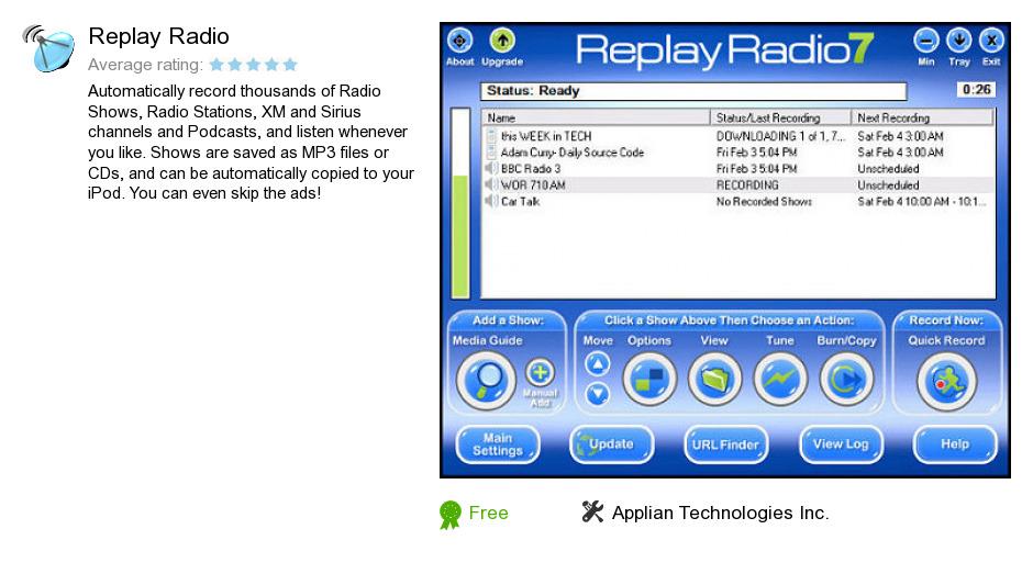 Replay Radio