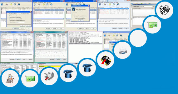 Software collection for Drivers Restore Serial