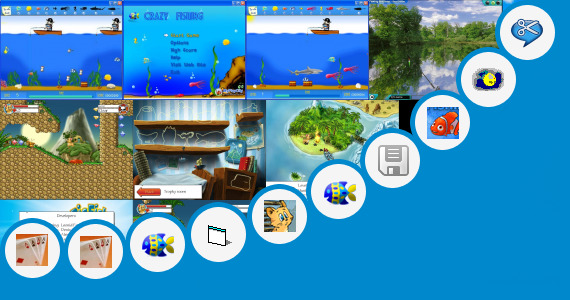 Free windows 7 bass fishing games crazy fishing and 89 more for Free bass fishing games