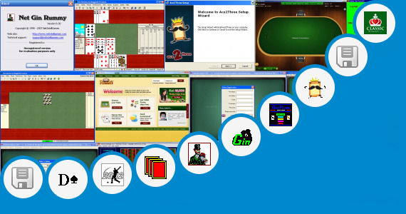 Software collection for G4 Indian Rummy Game