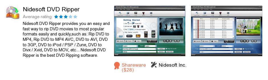 Nidesoft DVD Ripper