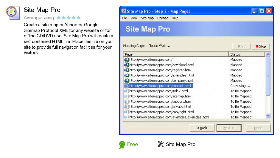 Site Map Pro