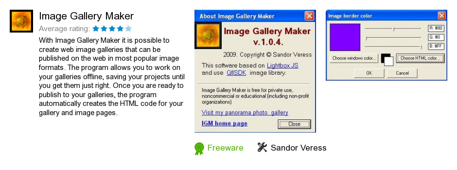 Image Gallery Maker