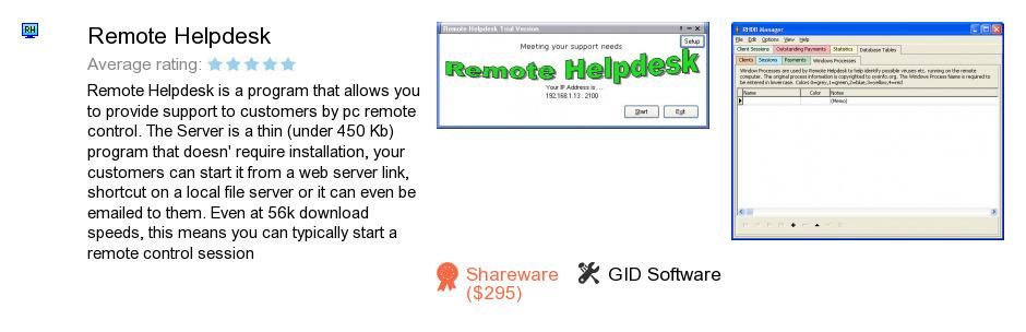 Remote Helpdesk